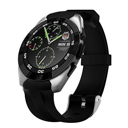 Kivors Bluetooth Smart Watch Fitness Tracker Uhr mit Herzfrequenz Armband Aktivität Tracker Gesundheit Schrittzähler Monitor Sport Armband Armbanduhr Telefon für...