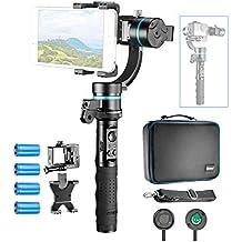 Neewer NW-LA3D-S2 3-eje estabilizador de cardán de mano, Gimbal Control montable y desmontable con 1/4 de pulgada rosca hembra para iPhone 7 7Plus Samsung S6, los accesorios de GoPro GoPro Hero 3 4 + y más