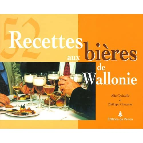 52 recettes aux bières de Wallonie
