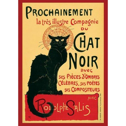 Poster - Poster Chat Noir (La Poster Noir Chat)