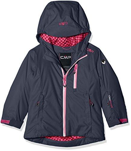 CMP Mädchen Skijacke Jacke, Asphalt, 140