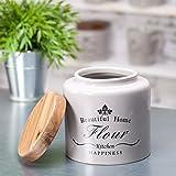 Dekoria Mehlbehälter Beautiful Home Mehlbehälter, Behälter, Keramik, Porzellan Geschenk