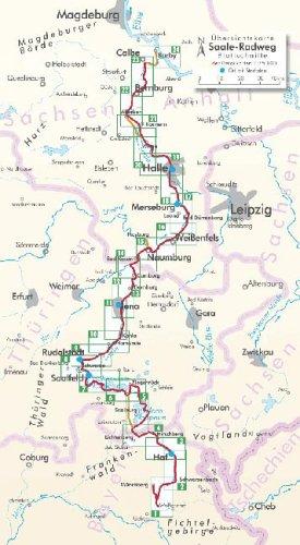 Bikeline Radtourenbuch, Saale-Radweg. Vom Fichtelgebirge zur Elbe, 1:75000, wetterfest/reißfest, GPS-Tracks Download