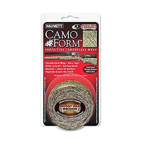 Camo Form Protective Fabric Wrap, Mossy Oak Brush by McNett