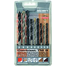 Broca alpen HSS Sprint, hoja-brocas de larga duración y CV máquinas-taladro de madera como 9 teiliges juego de material plástico de cinta, 802102100