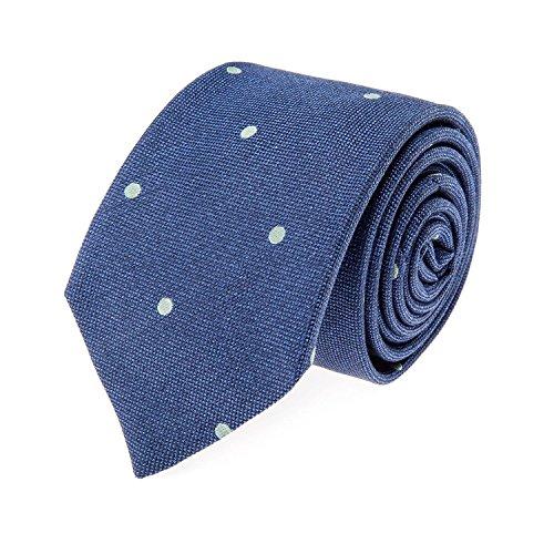 strellson-pre-consolidadas-pajarita-de-seda-pequena-mancha-azul