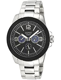 Esprit Herren-Armbanduhr XL 304 STAINLESS STEEL Analog Quarz Edelstahl A.ES105831006