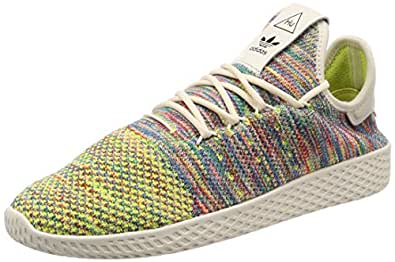 33cede72ad7a Image Unavailable. Image not available for. Colour  adidas Mens Originals  Mens Pharrell Williams Tennis HU PK Trainers ...