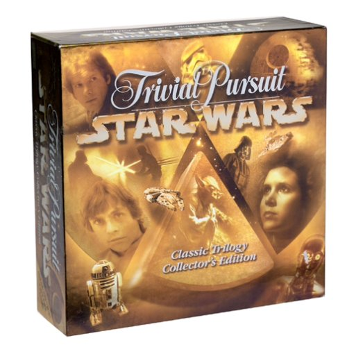 Trivial Pursuit Star Wars Classic Trilogy Collectors Edition by Trivial Pursuit