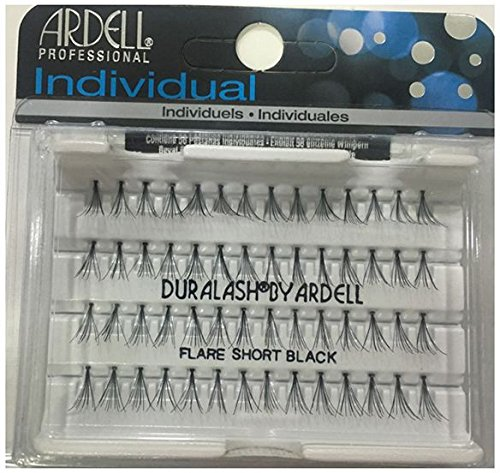 Ardell DuraLash Individuals Knotted Flares Short Black -