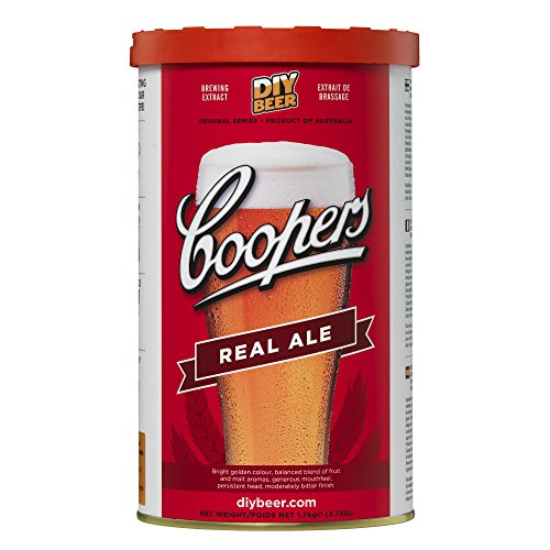 Kit Cerveza Real Ale - Coopers