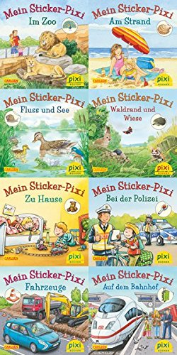 Pixis neue Sticker-Bücher (8x1 Exemplar) (Pixi-8er-Set, Band 234) (Pixie Band)