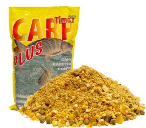 Timar Mix Futter Plus Serie 3kg Feeder Spezial mit Mirco-Pellets Gelb Futter Angelfutter Futter Grundfutter Karpfenfutter