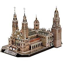 Cubic Fun mc184h–3d Puzzle Catedral de Santiago de Compostela España
