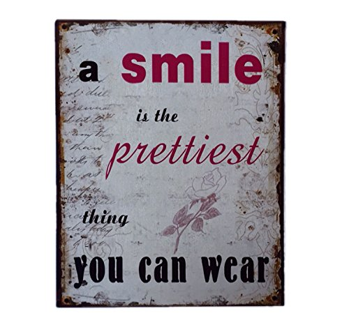 blechschild-a-smile-is-the-prettiest-thing-you-can-wear-shabby-chic-nostalgie-antik-metallschild-20-