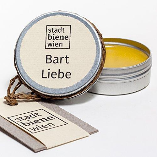 Stadtbiene Wien Bio-Bartpflege mit Bienenwachs und Brokkolisamenöl in der Dose - Ideal für die...