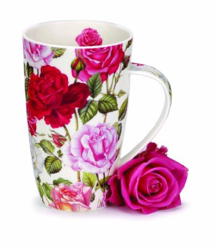 Dunoon Henley Tasse en Forme de Motif Roses