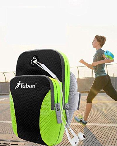 Bluestercool Outdoor-Sportarten wasserdichte ARM Tasche zum Running/Fitness/Radfahren - Multicolor B2