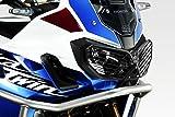 Honda crf1000 Africa Twin Adventure Sport - Protecciones faros delanteros - With Roll-Bar - negro mate - Rejillas Carcasa coperture Marcos luces faros delanteros Adventure Sports - Fácil Instalación - Accesorios de Pretto Moto (DPM) - 100% Made in Italy