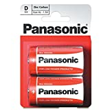 Panasonic 1147 Special Power Batterie Zinc R20R D Mono