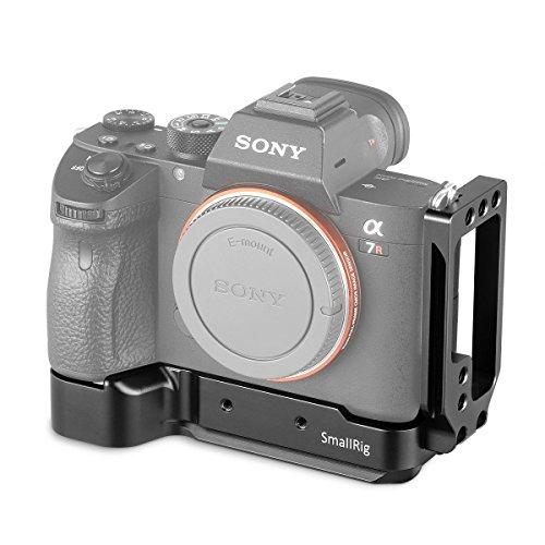 SmallRig L-Bracket für Sony A7RIII/A7III/A7M3/A9 mit Quick Release Plate für Arca Swiss und 20mm Griffhöhe für Bequeme und Komfortable Aufnahmen 2122 (Quick Bracket Release Lcd)