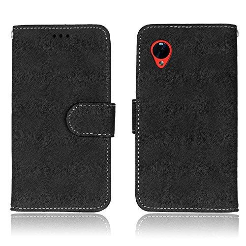Mattierte Oberfläche solide Farbe horizontalen Flip Stand Case PU-Leder Tasche Cover mit Wallet-Funktion Kartensteckplätze für LG Google Nexus 5 E980 D820 ( Color : 6 ) 5