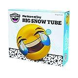 Big Mouth Inc Lacrime di gioia Emoji Snow Tube Slittino da Neve immagine
