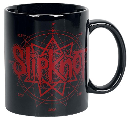 Slipknot Logo Tazza nero