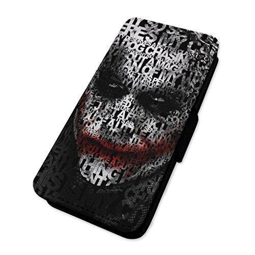 JOKER Zitat Face–Flip Case Wallet Cover Card Holder Apple iPhone 6/6S (Zitate Iphone 6 Wallet Case)