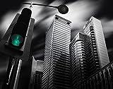 jplo9  # JP London mdxl1X 53758JPL und Dr. Akira takauepresent Makati City Prolog Urban Street Sky Signal 12ft Breite, 8,5ft High schälen und Stick komplett abnehmbar Wand Wandbild Extra Groß