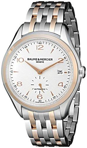 Baume & Mercier Clifton Reloj de hombre automático 41mm correa de acero 10140
