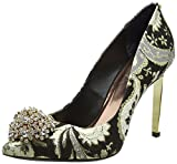 Ted Baker Women's Peetch Text Af Ornate Paisley Closed Toe Heels
