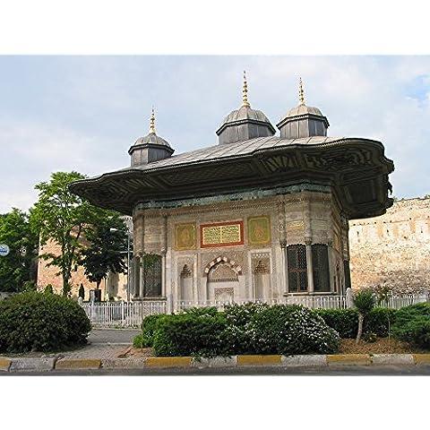 vinteja fotografia–sultan Ahmed stilografica in Istanbul, Turchia,