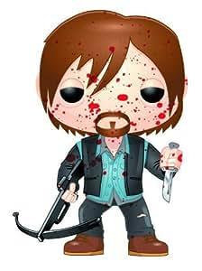 Funko Pop! The Walking Dead: Bloody Version Biker Daryl Vinyl Figure by Funko TOY (English Manual)