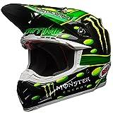 Bell Helmet Moto-9 Flex Mcgrath Monster, Grün/Schwarz, Größe XL