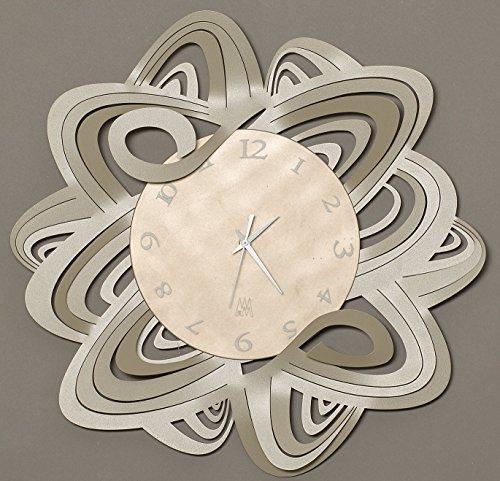 orologio da parete design moderno particolare Arti e Mestieri penelope metallo colore...
