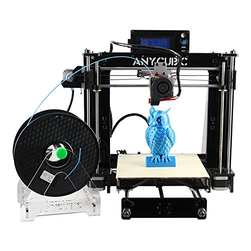 Anycubic Prusa i3 3D Printer with LCD Screen Card Assemble Kit and 1kg Filament.