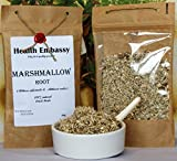Raíz de Malvavisco 100g ( Althea Officinalis L. - Altheae Radix ) / Marshmallow Root 100g - Health Embassy - 100% Natural