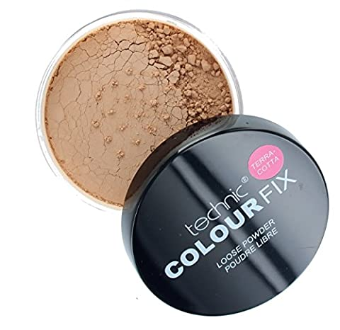 Technic Colour Fix Loose Face Powder 20g-Terracotta
