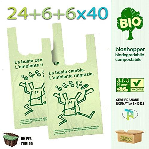 Palucart® - 500 bolsas compra biodegradables compostables