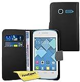 FoneExpert Alcatel One Touch Pop C1 - Etui Housse Coque en Cuir Portefeuille Wallet...
