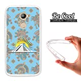 Becool® - Cover Gel Flexible Vodafone Smart N8, TPU Case made out of the best Silicone, protects and adapts flawlessly to your Smartphone, together with our exclusive designs. Aztec pyramid.