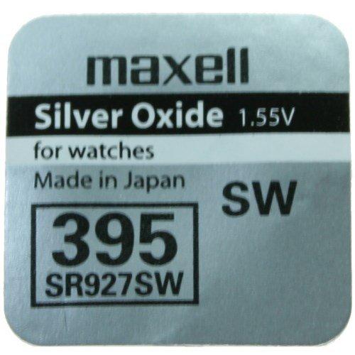 Maxell - 395, SR927SW 1.55V / 1 unidad