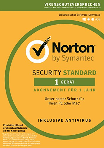 Norton Security Standard Antivirus Software 2018