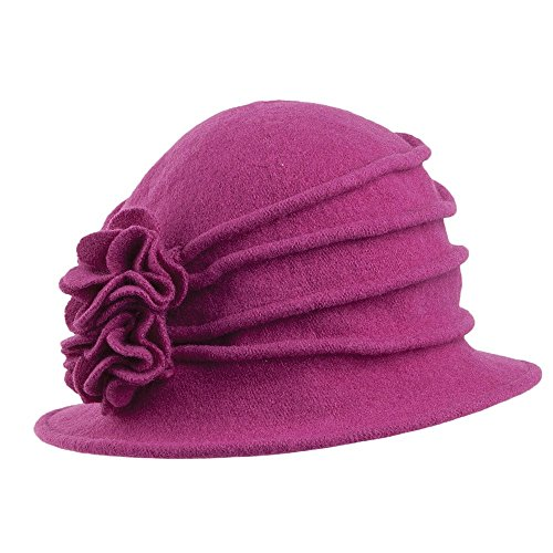 scala-hats-wool-cloche-with-flower-berry-berry-1-size