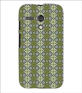 PrintDhaba Pattern D-5257 Back Case Cover for MOTOROLA MOTO G (Multi-Coloured)