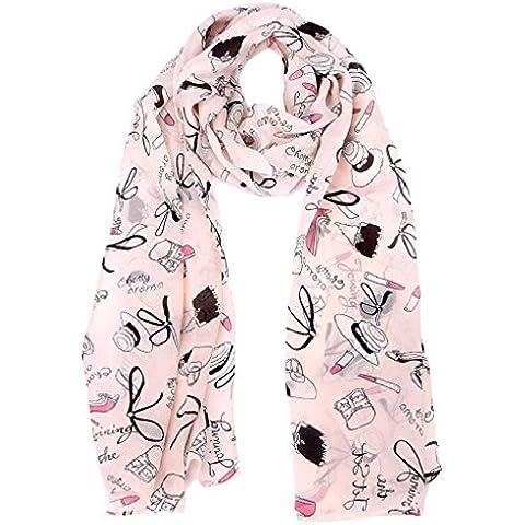 ZARU Pañuelos de gasa bufanda del abrigo de señora Shawl Bufandas Chales Estolas Fulares Otro (Bufandas, estolas y fulares) Pashminas Pañuelos para la cabeza
