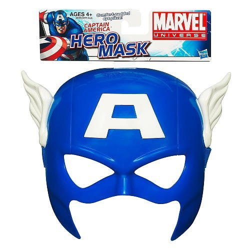 Helden Maske - Captain America [UK Import] (Cooles Captain America Kostüm)
