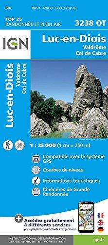 3238OT LUC EN DIOIS VALDROME COL DE CABRE