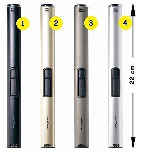 22 cm lang Feuerzeug Gas Gasfeuerzeug Stabfeuerzeug nachfüllbar NEU (Olivgrün)